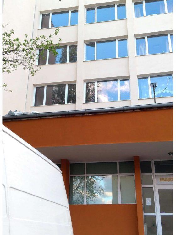 Боядисване общежитие