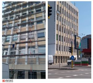 Боядисване на административна сграда