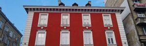 Боядисване на жилищни сгради